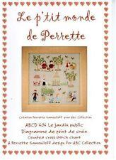 ABC Collection Perrette Samouiloff Cross Stitch Chart #606 Le Jardin public