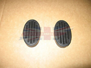 Brand New Pair of Brake and Clutch Pedal Pads for MG TD TF