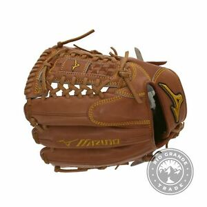 USED Mizuno GMP 100 Pro Limited Fielding Glove - Right in Chestnut - 12""