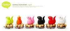 HOME DECOR LIVING STYLE QUALY SQUIRREL& ACORN MAGNET PAPER HOLDER OFFICE DESK