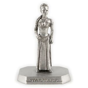 Princess Leia, Slave from ROTJ | 1990s Star Wars Figure by Rawcliffe Pewter