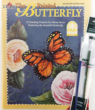 The Painted Butterfly Decorative Painting Book w Opt Brushes U PICK