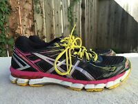 Women's ASICS GT-2000 Size US 9.5  EU 41.5 Running Shoes Black/Hot pink T3P8N