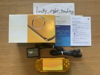 PSP Bright Yellow 3000 BY BOX Console Charger Sony PlayStation Portable Gd cdtn
