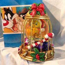 San Francisco Mucis Box Looney Tunes Tweetie in Christmas Cage Waterglobe $67.99