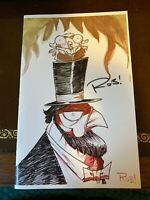 CHEW Sketchbook 2013 SDCC Signed by Rob Guillory Limited to 100 copies NM+