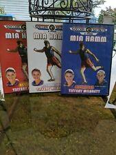 New listing SOCCER SECRETS & FITNESS, MIA HAMM, 3-DVD Set, 2002 used, see pics