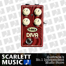 T-Rex Diva Drive Overdrive Effects Pedal TREX DIVADRIVE *BRAND NEW*