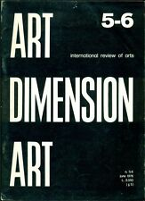 Art Dimension. International review of arts. N.5-6 June 1976