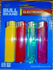 BULL BRAND Electronic Lighters PACK OF 4