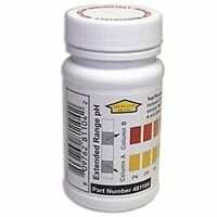 INDUSTRIAL TEST SYSTEMS 481104 Test Strips,pH,2-12ppm,PK50