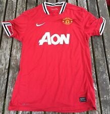 MANCHESTER UNITED HOME SHIRT 2011/2012 L Large