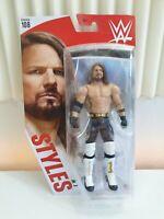 AJ STYLES Mattel WWE Basic Series 108 Chase Variant Figure BRAND NEW