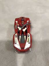 New listing 1997 Bandai Power Rangers Turbo Red Ranger with Turbo Car