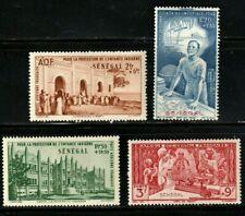 Senegal stamps, 1941, Defense of Orphans Fund, Semi Postals, MHOG, VVF