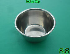 3 Iodine Cup Surgical Medical Equipment ENT Instrument