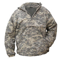 Digital Camouflage Hooded Anorak - Field Jacket Smock Coat Army Camo All Sizes