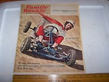 1961 Family Weekly Danville Illinois DOROTHY DEVLIN Go Cart Cover