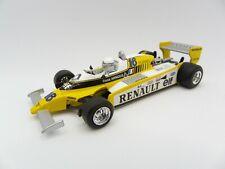 Renault Turbo RE20 René Arnoux #16 1980 Quartzo 1/43 F1 Formule 1