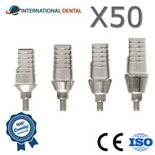 50 Straight Titanium Abutment Wide Platform With Shoulder 5.5mm Dental Implant