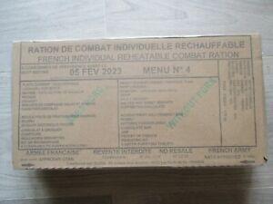ration de combat menu 4 thon piperade