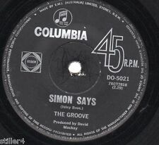 THE GROOVE Simon Says / With This Ring*ORIGINAL AUSTRALIA COLUMBIA LABEL 70s*