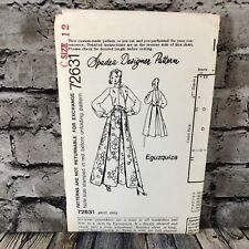 Spadea 72631 Designer Eguzquiza Skirt Uncut Sewing Pattern Size 12