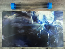 Blue-Eyes White Dragon YuGiOh TCG Duel Battlefield Playmat TCG Mat Free Tube