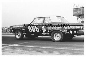 "1970s Drag Racing-Ken Montgomery's 1965 Plymouth 426 Hemi-555-""Triple Nickle"""
