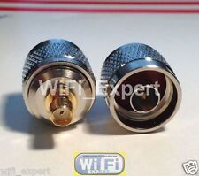 N Type Male Jack to SMA Female Plug straight RF adapter connector USA