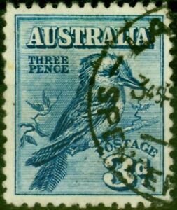 Australia 1928 3d Blue SG106 Good Used
