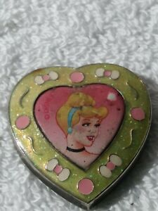 Vintage Sleeping Beauty Picture In A Heart