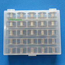 for SINGER CLASS 15 BOBBIN - PACK OF 25 BOBBINS #2518 #2996 with nice box