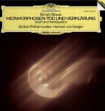 Strauss-Métamorphoses, mort Digital LP, Herbert de Karajan, Berliner philh.