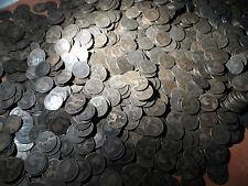 100 centavos de Victoria Lote a granel de 100 monedas toda la Reina Victoria