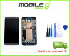 ECRAN LCD + VITRE TACTILE + CHASSIS FRAME pour HTC DESIRE 610 NOIR + OUTIL