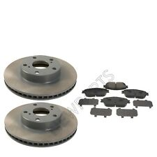 Fits Toyota Tacoma 05-15 Front 5 Lug Brake Disc Rotors & Pads With Shims Genuine