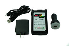 Kenwood PCKNB57 Battery & 12 Volt DC In Vehicle Charger