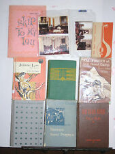 Vintage Girl Scout Brownie Outdoor Girls Books Songbook Post Cards Memorabilia