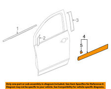 Buick GM OEM 13-16 Encore Front Door-Lower Molding Trim Right 95310029