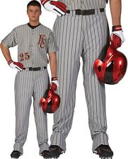 Rawlings YOUTH Relaxed Fit Open Bottom Pinstripe Baseball Pants, YBP95MR,