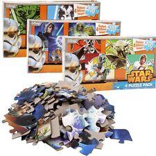 Disney Star Wars Episode 7 Jigsaw Puzzle, 4-in-1 PACK, 100-PIECE