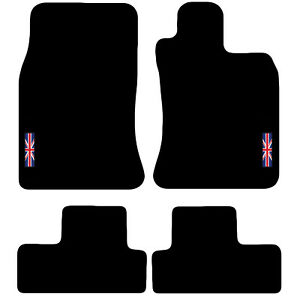 Tailored Carpet Car Floor Mats FOR MINI 2001 to 2006 (R50 , R53) with logo