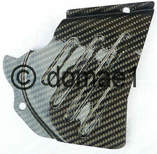 carbon fiber sprocket cover for many models of Ducati  protection chain guard