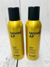 New listing (2) Pack B tan Tanned Af Australian 1 Hour Bronzing Mist Vegan Friendly Natural