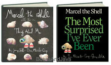 Marcel the Shell With Shoes On & The Most Surprised I've Ever Ben (hc) 2 Books