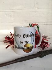 Harry Potter Christmas Muggle Quote Mug. Office / Gift Idea/ Stocking Filler