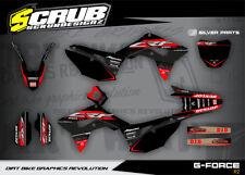 Honda CRF RX Dekor Grafik set 450 RX 2017 2018 '17 - '18 - SCRUB MOTOCROSS MX