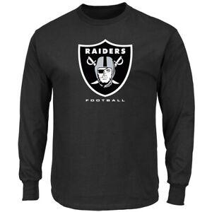 NFL Shirt Oakland Raiders Long Sleeve Critical Victory 3 T-Shirt Football