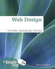 Web Design in Simple Steps, New, Brannan, Mr James A Book